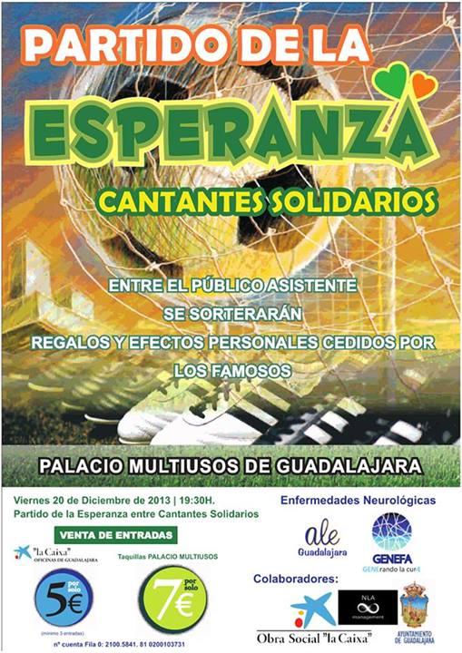 cartel benéfico Guadalajara GENEFA 2013
